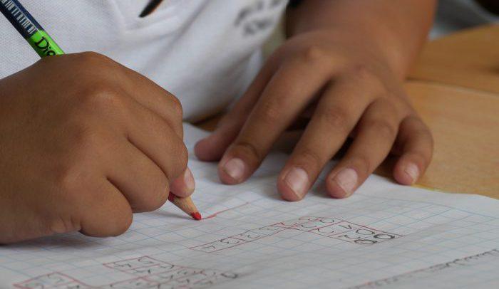 skole skrivee regne elev